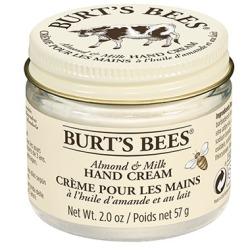 burts bees almond hand cream