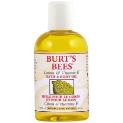 burts bees bath oil